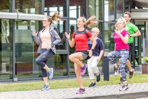 Betriebliches Gesundheitsmanagement Dresden Berlin Company move Laufkurs